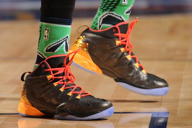 NBA All-Star Game Shoes 2014: Highlighting Top Kicks from Annual Showcase