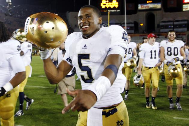 Everett Golson's Path from Suspension to Heisman Contender in 2014