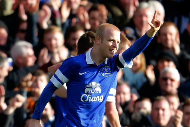 Steven Naismith Becoming a Key Attacking Weapon at Everton