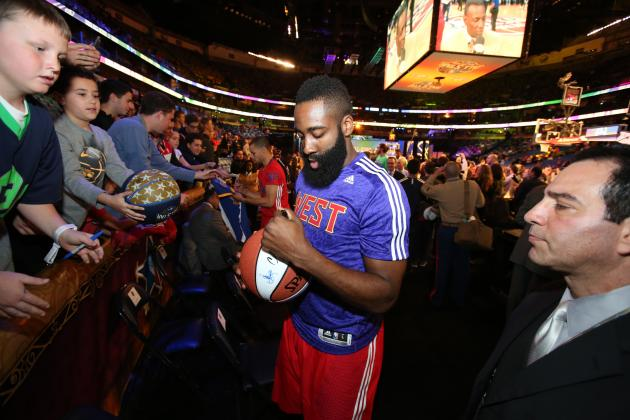 James Harden Calls Himself a Top-10 NBA Player During 2014 All-Star Break