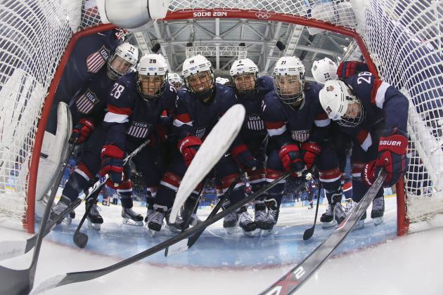 US Olympic Hockey Team 2014: Women Prove They Are Team to Beat in Sochi