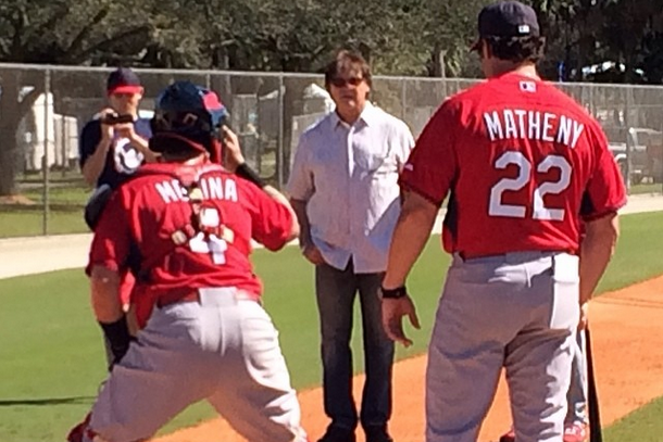 Instagram: Matheny, Molina, LaRussa in Spring