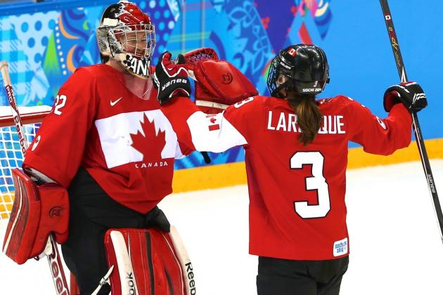 Canada vs. Switzerland Olympic Women's Hockey 2014: Live Score and Analysis