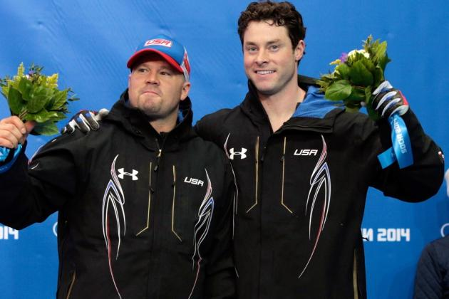 Bobsled Medal Results and Times from 2014 Olympics Men's 2-Man Event