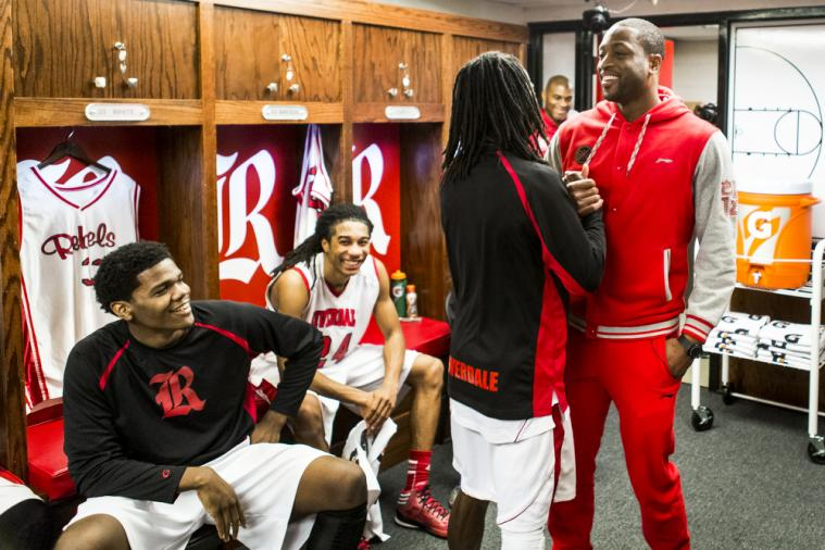 Dwyane Wade and Gatorade Surprise High School Team with Locker Room Makeover