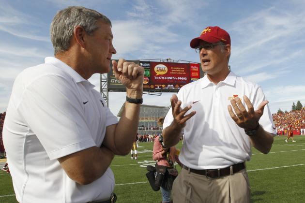 ISU, UI ADs See Cy-Hawk Continuing as Long as Conference Formats Allow