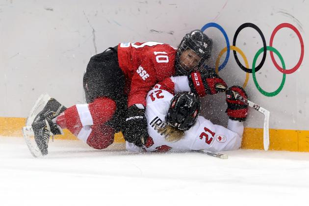 Canada vs. Switzerland Women's Hockey: Score and Recap from 2014 Winter Olympics