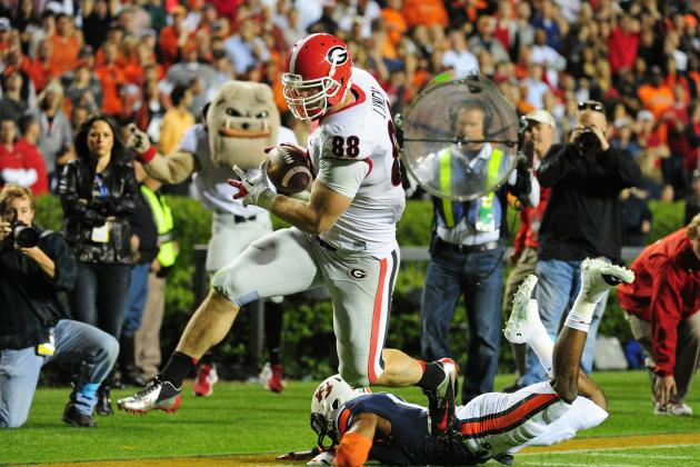 Georgia Football: Who Will Replace Arthur Lynch in Starting Lineup in 2014?