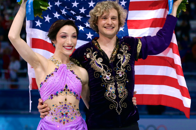 Meryl Davis and Charlie White Win Gold Medal in Olympic Ice Dancing