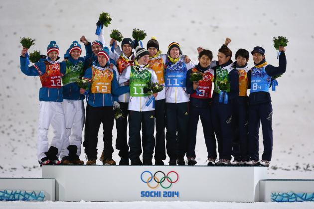 Olympic Ski Jumping Men's Results 2014: Team Medal Winners and Recap