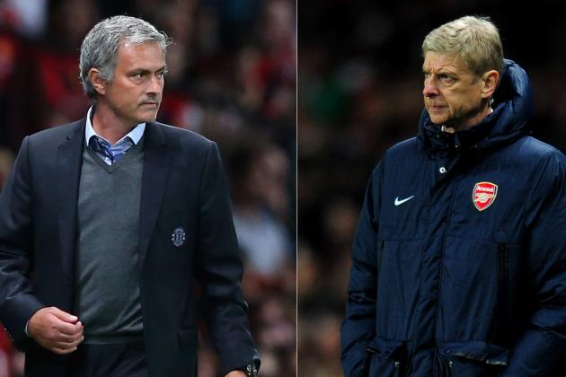 Is Jose Mourinho 'Embarrassing' Chelsea in Row with Arsenal Boss Arsene Wenger?