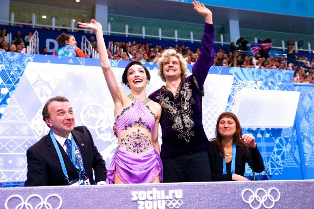 Sochi 2014: Charlie White, Meryl Davis Prove Sure-Bet Status with Olympic Gold