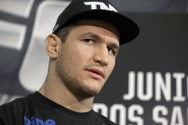 Junior Dos Santos: Chris Weidman's 2nd Win over Anderson Silva Was an 'Accident'