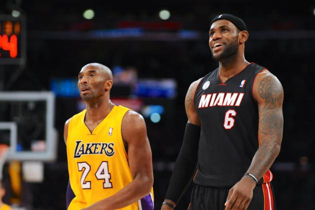 LeBron James, Kobe Bryant Top Forbes' List of 2013 NBA Endorsement Deal Earners