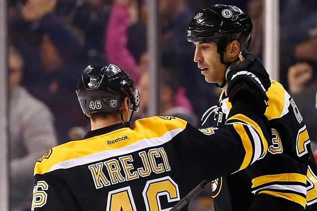What to Expect from David Krejci and Zdeno Chara in Czech Republic vs. Slovakia