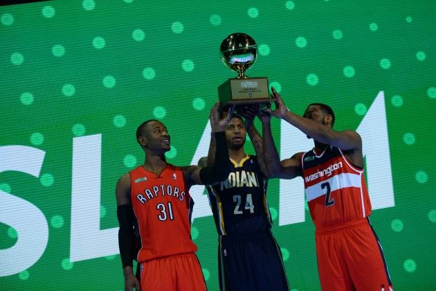 NBA Slam Dunk Contest 2014 Highlights: Best Moments from All-Star Showcase