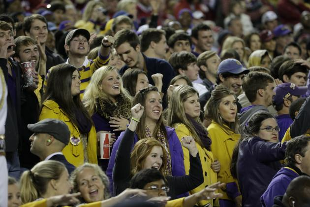 Tiger Fans Voted Tops Among SEC Student Sections