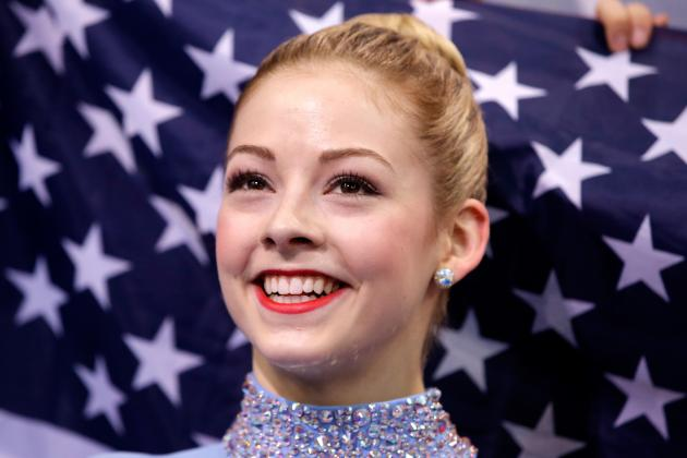 US Women's Olympic Figure Skating 2014: Gracie Gold Team USA's Only Medal Hope