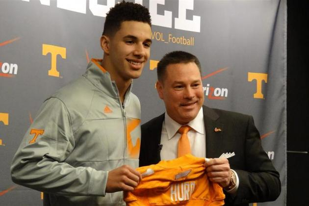 Tennessee Football: What Volunteers Fans Should Expect from Jalen Hurd in 2014