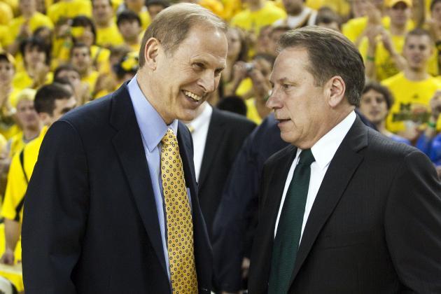 Michigan State Basketball: Will Showdown vs. Michigan Decide 2013-14 B1G Title?