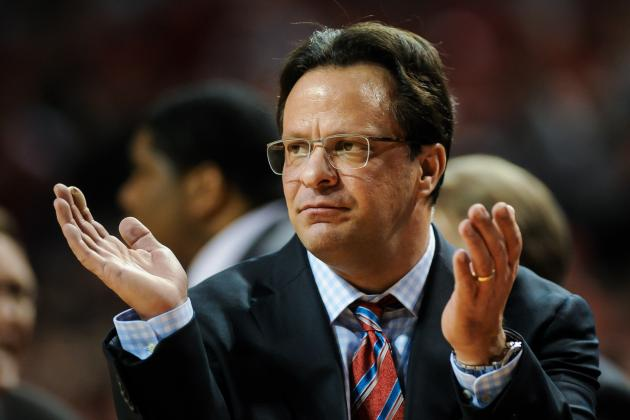 Indiana Basketball: Should Hoosiers' Tom Crean Be on the Hot Seat?