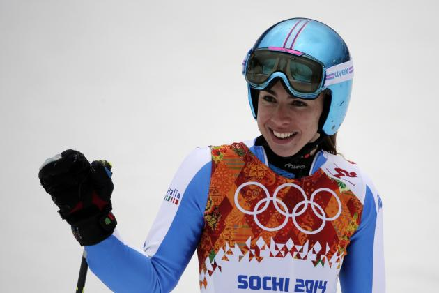Giant Slalom Olympics 2014: Women's Alpine Skiing, Run 1, Results and Recap