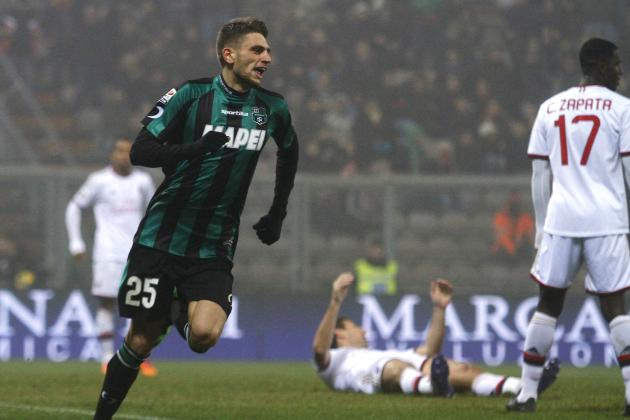 What Domenico Berardi Can Learn from Juventus' Star Names