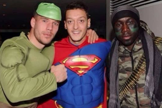 Mesut Ozil Boasts Arsenal Have Superman, Hulk and Rambo for Bayern Munich Clash