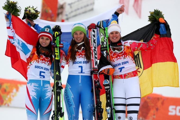 Olympic Women's Giant Slalom Results 2014: Alpine Skiing Medal Winners and Times