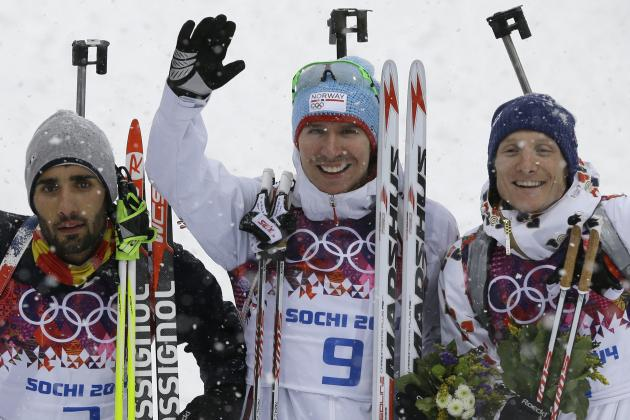 Biathlon Medal Results and Times from Olympic 2014 Men's 15km Mass Start