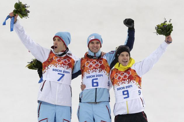 Olympic Nordic Combined 2014: Men's Individual 10km Results and Medal Winners