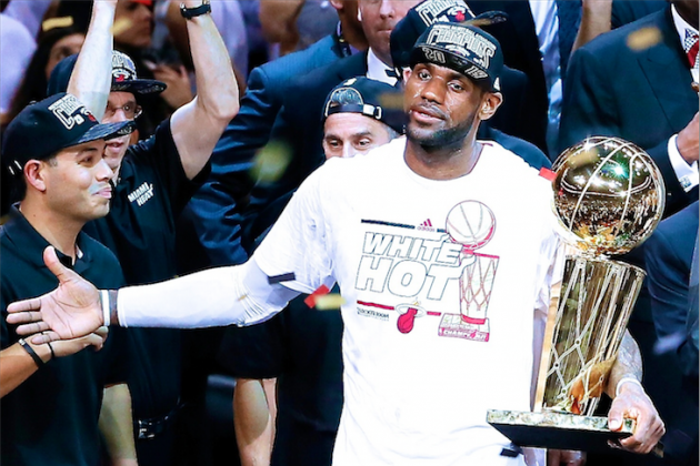 LeBron James Can't Imagine Leaving Heat If Miami Wins Third Straight Title