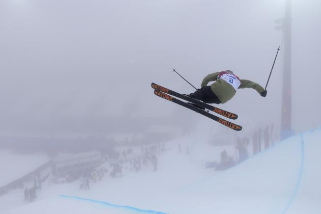 Men's Freestyle Skiing Halfpipe Olympics 2014: Qualifying ...