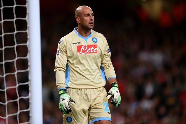 Liverpool's Pepe Reina Staying At Napoli Would Be Best For All Parties