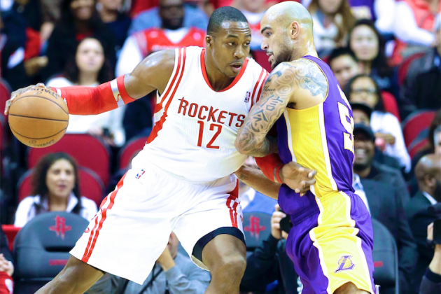 Dwight Howard Leaves Lakers Looking Small, but He's Still Got Growing to Do