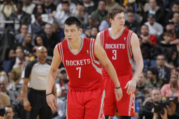 Houston Rockets Reportedly Shopping Jeremy Lin, Omer Asik in Trade Talks