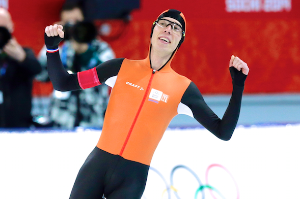 Olympic Speedskating Results 2014: Men's 10,000-Meter Medal Winners and Times