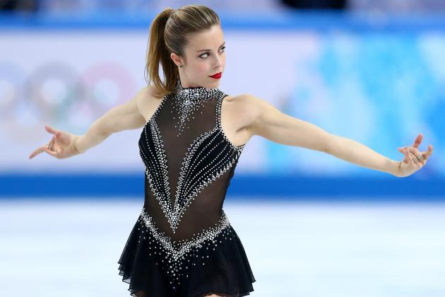 Ashley Wagner in 6th Place After Women's Figure Skating Single Short Program
