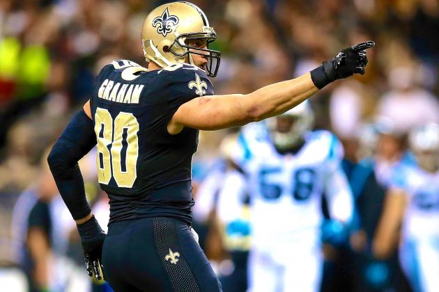 Jimmy Graham Reportedly to File Grievance If Franchised as Tight End by Saints