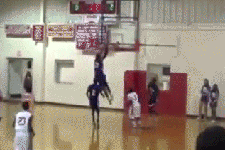Video: Arkansas DE Recruit Shatters Backboard