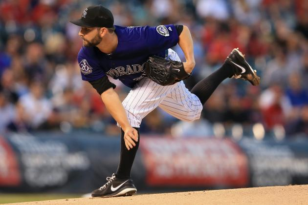 Rockies Pitcher Tyler Chatwood Feeling Fit After Having Elbow Surgery