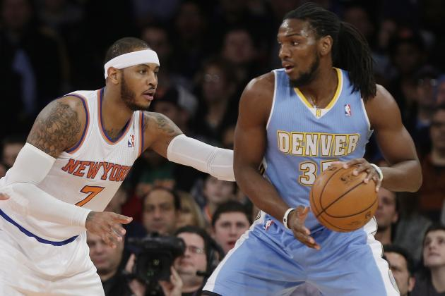 Toronto Raptors Reportedly Interested in Kenneth Faried Trade