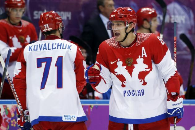 Why Russia Is the Most Dangerous Team in the 2014 Olympic Hockey Tournament
