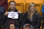 Worst Kiss Cam Moment Ever