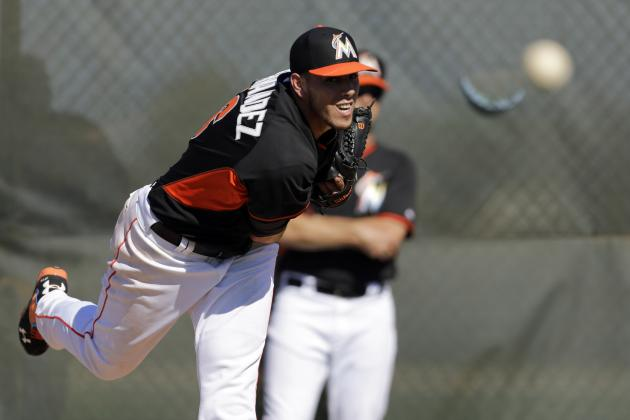 Marlins' Ace Jose Fernandez Reportedly Cycled 600 Miles a Week This Offseason