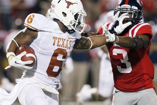 Texas' Quandre Diggs Tweets His Ideas on How to Fix Student Attendance Problem