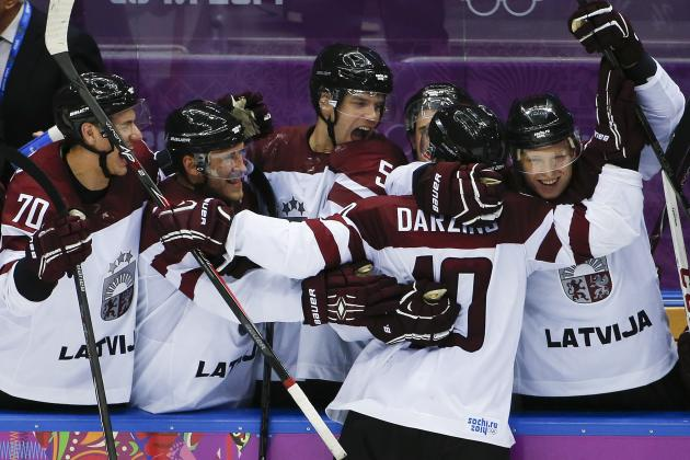 Switzerland vs. Latvia: Score and Recap from 2014 Winter Olympics