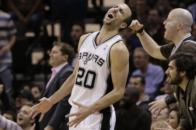 Ginobili 'Probable' for Tonight vs. Clippers