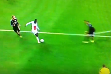 Blaise Matuidi Scores for Paris Saint-Germain vs. Bayer Leverkusen in UCL