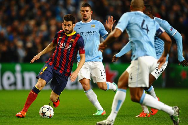 Manchester City vs. Barcelona: Champions League Live Score, Highlights, Report